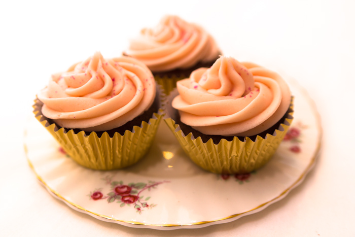Easy Valentines Cupcake Recipe Turkish Delight Chocolate And Rose Flavour