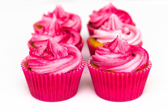 Strawberry Milkshake flavour Cupcake Recipe