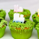 Train Cupcakes for a childrens birthday party