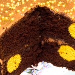 How to make a Polka Dot Cake – Chocolate Orange Recipe
