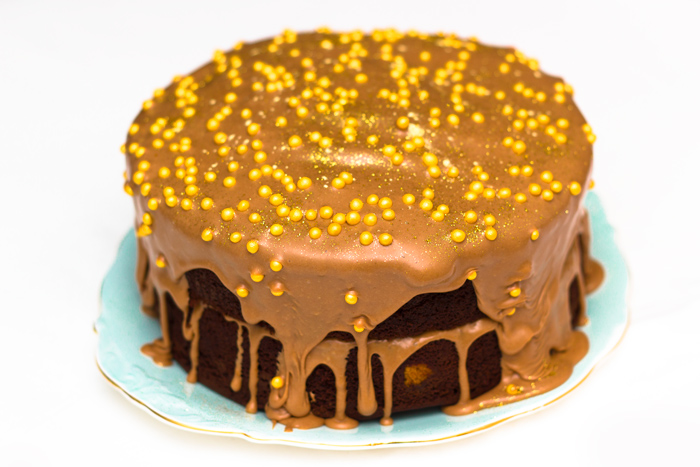 How to make a Polka Dot Cake - Chocolate Orange Recipe
