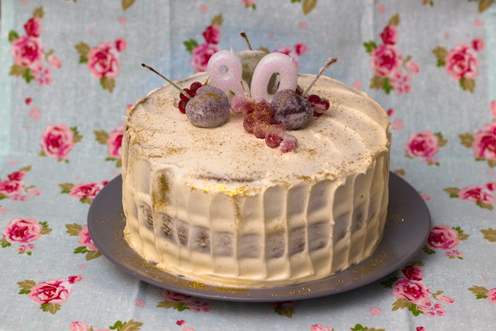 Honey and Pear Layer Cake - The Hummingbird Bakery Recipe