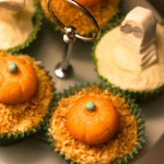Halloween Toasted Coconut Cupcake Recipe – Pumpkin Patch