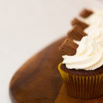 Easy chocolate and whipped cream cupcake recipe