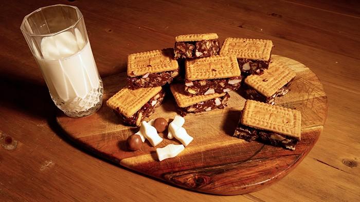 Malted Milk Alternative Rocky Road Recipe