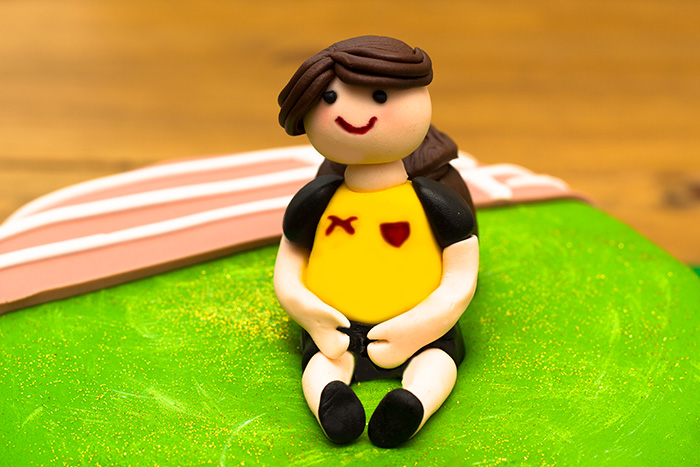 Athletics and Gymnastic Themed Birthday Cakes