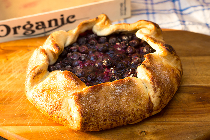 Easy Blueberry Crostata Recipe