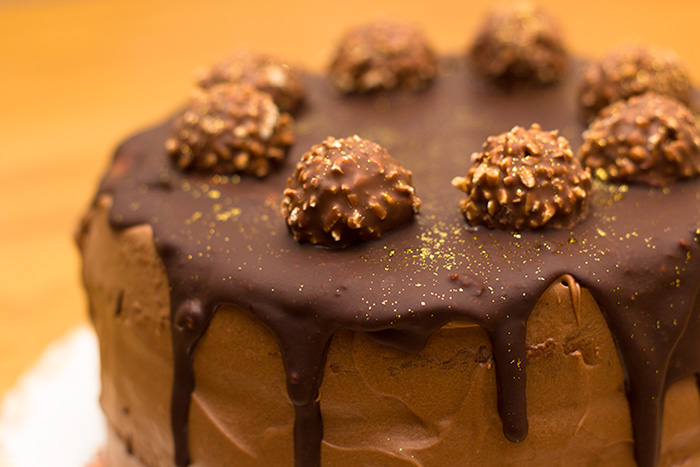 Chocolate Sponge Cake Recipe Jamie Oliver: Ferrero Rocher Cake Recipe