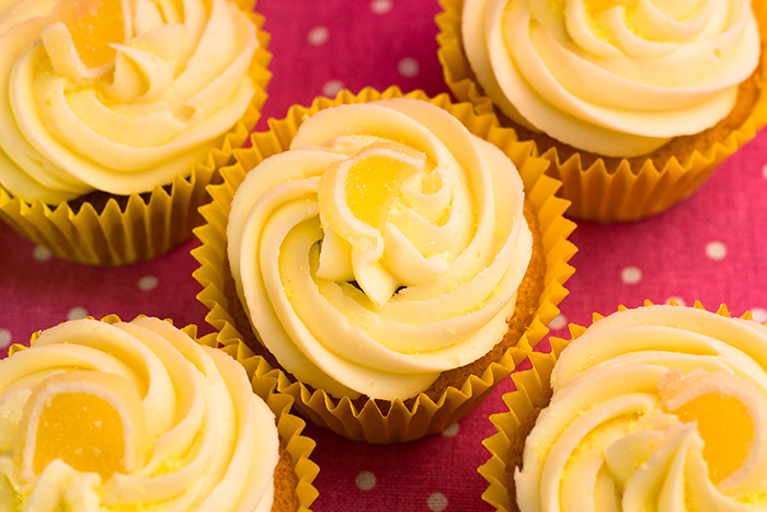 Easy Lemon Cupcake Recipe