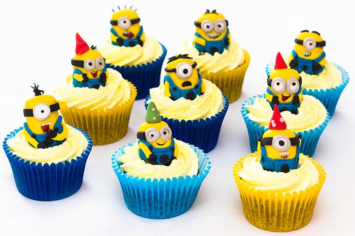 Despicable Me Minion Cupcakes Sunday Baking