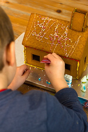 Christmas Baking with Kids – PART TWO Gingerbread House