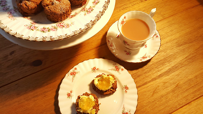Ginger And Treacle Scone Recipe