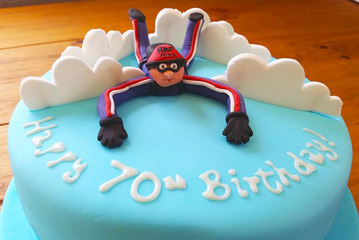 Sky Diving Themed Cake – Ultimate Chocolate Cake Recipe