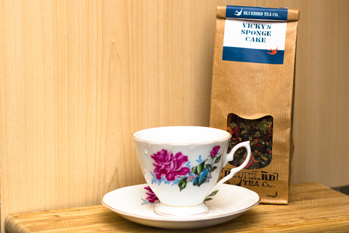 Review: Victoria Sponge Cake flavoured Tea – Bluebird Tea Co.