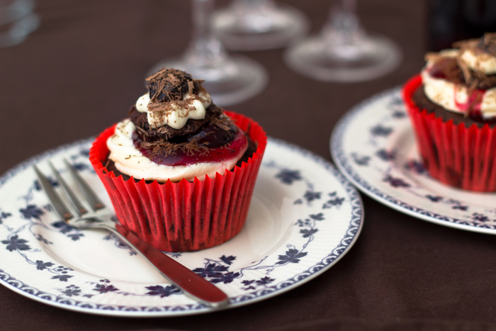 Vegan Cupcake Recipe – Black Forest Gateaux Cupcakes