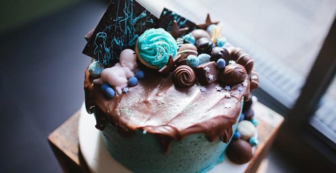 Chocolate Baby Shower Cake Recipe