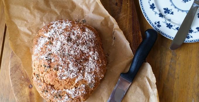 Rosemary and Thyme Soda Bread – Sugar Free Recipe