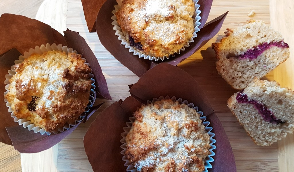 Jam Donut Muffins – Refined Sugar and Gluten Free