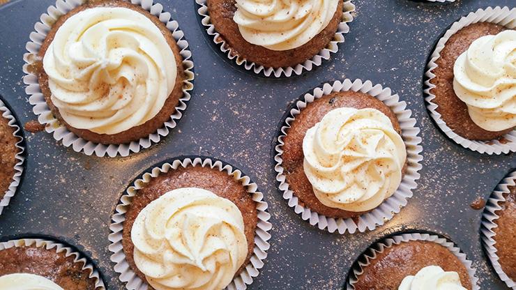Rum and Raisin Cupcakes – Dairy Free Recipe